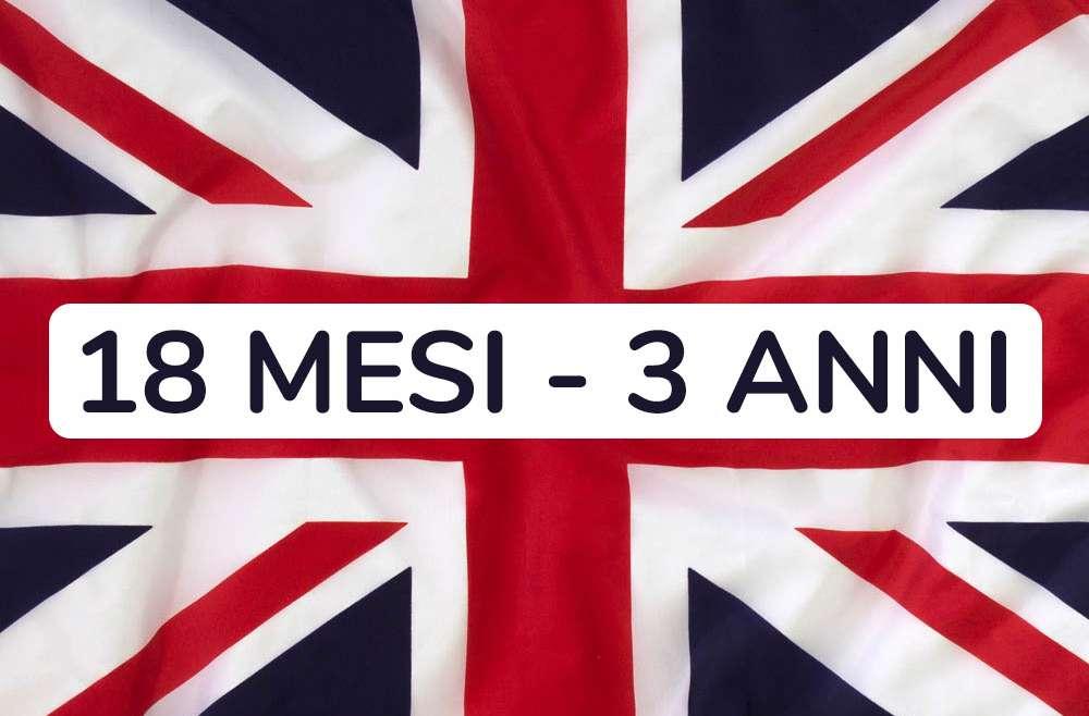 Inglese 18 mesi – 3 anni